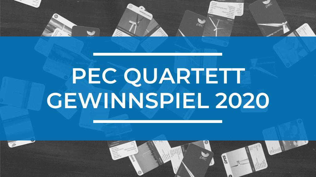 PEC Quartett Gewinnspiel 2020 1