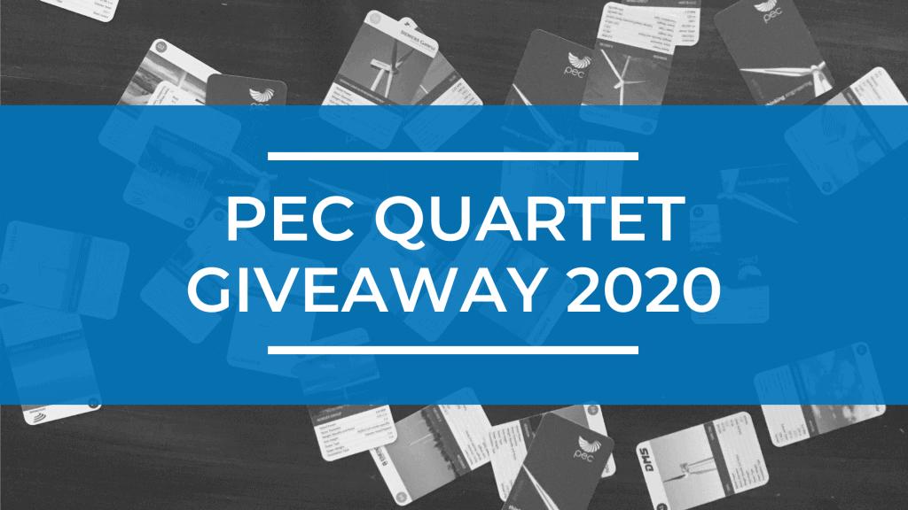 PEC Quartet Giveaway 2020 1
