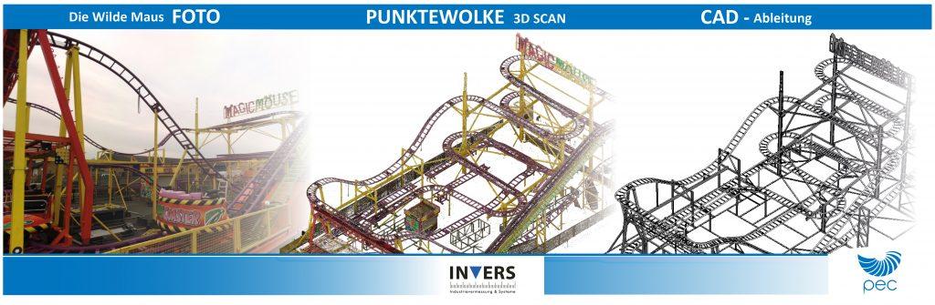 Vermessungskooperation zwischen Invers Industrievermessung & Systeme und P. E. Concepts 1